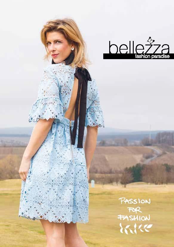Modekatalog von Bellezza Fashion, bekannte hochwertige Markenkleidung