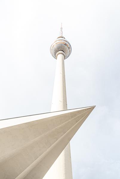 Fernsehturm am Alexanderplatz in Berlin