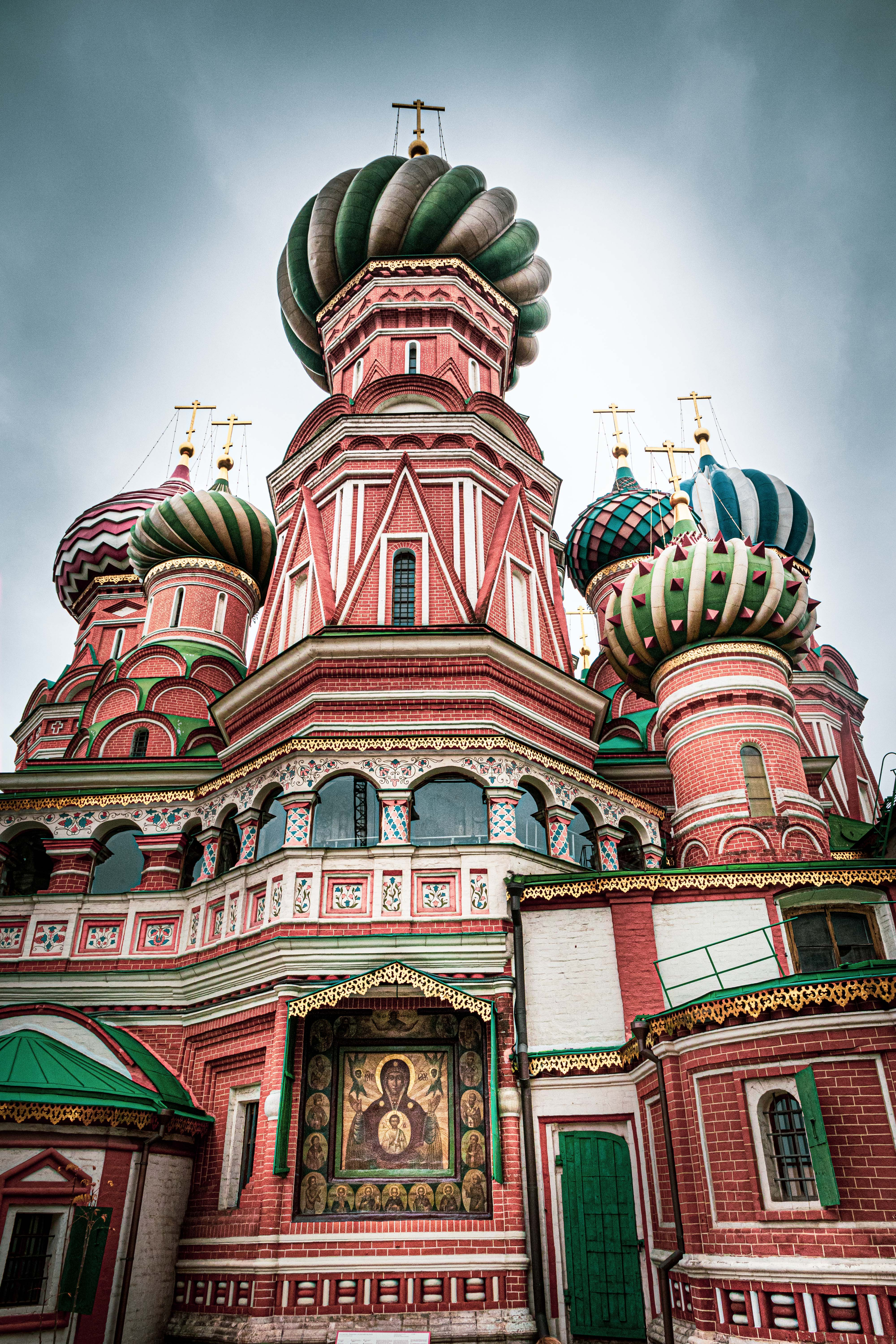 Saint Basil's Cathedral on Red Square, Moscow