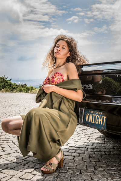 Modestrecke mit K.I.T.T. und Mode von Marina Hörmannseder