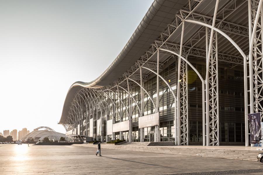 Yantai/ China Kongresszentrum